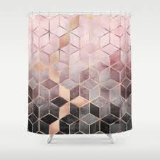 modern shower curtains society6