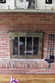 painting a fireplace surround hanging fireplace updates days of