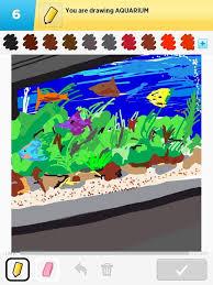 aquarium drawings how to draw aquarium in draw something the