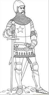 knight coloring page free knights coloring pages