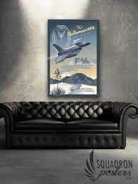 holloman afb f 16 falcon poster sp holloman f16 54oss 20x30 v2 sp00462 vintage military aviation canvas travel