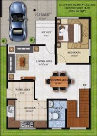 Vastu Floor Plans South Facing 51 30x40 House Floor Plans 30x40 Park Facing Villas Swawouorg 30 X