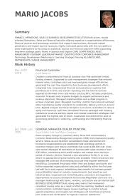 Accounting Controller Resume Controller Resume Example Assistant Director Of Financefinancial