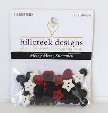 merry merry snowmen embellishment kit
