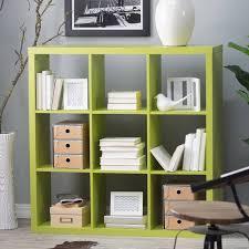 Green Bookshelves - types of bookshelves home design