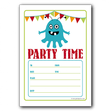 imposing birthday party invitations templates to inspire you