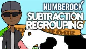 subtraction with regrouping numberock