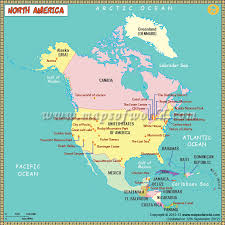 map usa oceans northamerica map for depicts rivers lakes oceans