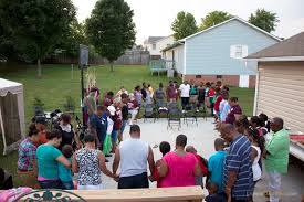 family circle gathering for prayer family reunion rutherfordton