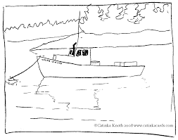 boat coloring pages for kids az coloring pages clip art library