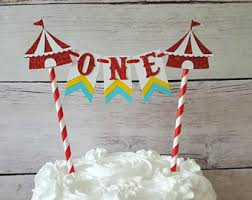 circus cake toppers circus cake topper etsy