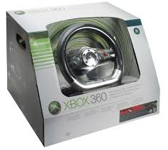 xbox 360 steering wheel microsoft xbox 360 wireless steering wheel review trusted reviews