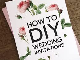 diy wedding invitation ideas diy wedding invitation marialonghi