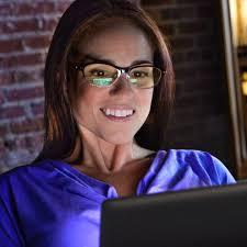 tinted glasses for light sensitivity blue light glasses lenses blue iq lenscrafters