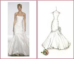 lasting impressions weddings sketches of your wedding dress