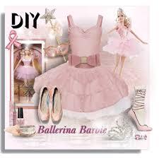 diy halloween costumes ballerina barbie polyvore