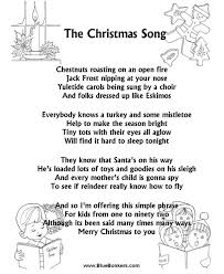 songs of christmas u2026the christmas song chestnuts roasting on an