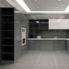 white gloss kitchen cabinets import high gloss finish kitchen cabinet grey base cabinet