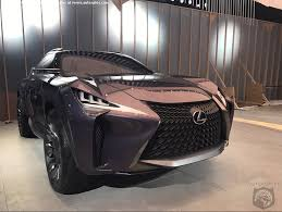 lexus ux model naias world exclusive spies get you into detroit auto show one