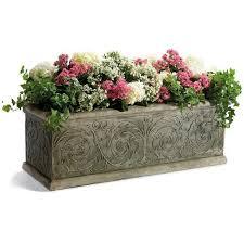 Rectangular Succulent Planter by Best 25 Rectangular Planters Ideas On Pinterest Rectangular