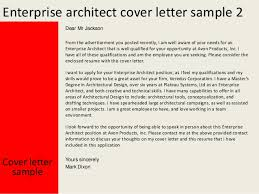 Enterprise Architect Resume Sample by Enterprise Architect Cover Letter