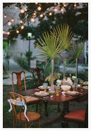 Home Wedding Decoration Ideas 46 Best Wedding Greenery Palms Images On Pinterest Tropical