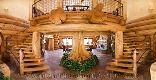 log homes interiors santa ynez log home picture gallery california usa