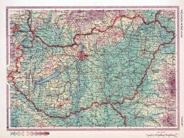 Old Europe Map by Large Old Physical Map Of Hungary Hungary Europe Mapsland