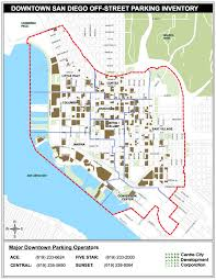 Trolley San Diego Map by Parking Options Available For North Harbor Drive During Construction