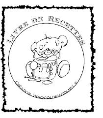 coloriage recette de cuisine image de livre à imprimer rq62 jornalagora