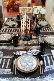 halloween tablecloth 45 best halloween table decorations images on pinterest