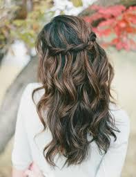 coiffure mariage boheme coiffure de mariage et bijoux de cheveux 55 idées tendance