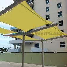 Outdoor Patio Sun Shade Sail Canopy by Sun Shade Sail 10 U0027 X 10 U0027 Waterproof Fabric Outdoor Canopy Patio