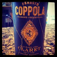 francis coppola claret 2012 coppola black label claret cabernet sauvignon the nittany