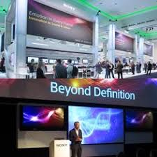 design event definition caign imagery and event collateral design for sony at the