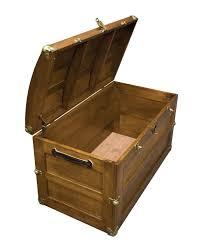 amish storage steamer trunk wooden wood cedar chest new ebay