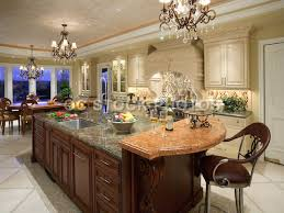 kitchens with large islands kitchen big kitchen islands cozy kitchen with island