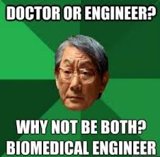 Industrial Engineering Memes - biomedical engineering overview education specializations