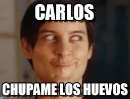 Carlos Meme - carlos spiderman peter parker meme on memegen