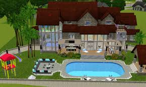2 story house with pool ksport3 designs