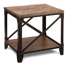 hardwood 10 inch chairside end table end tables leon s