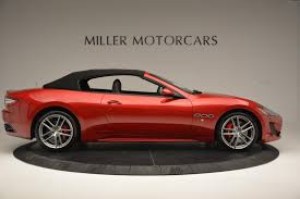 red maserati convertible 2017 maserati granturismo cab sport stock m1639 for sale near