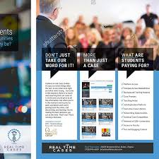 design a professional brochure to target corporate executives by