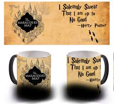 Harry Potter Marauders Map Color Changing Mug Open The Marauders Map