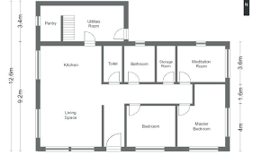 simple cabin floor plans simple cottage floor plans floor simple house plans idea simple