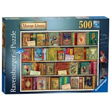 jigsaw quote game vintage library 500 piece jigsaw puzzle jigsaw puzzles from