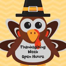 thanksgiving week hours airfx troline park