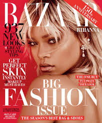 rihanna stuns in harper u0027s bazaar us march 2017 cover rihanna