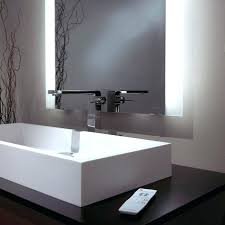 Bathroom Mirror With Built In Light Built In Bathroom Mirror Bathrooms Medicine Cabinets With Lights
