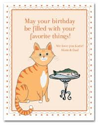 printable kitty cat birthday card template